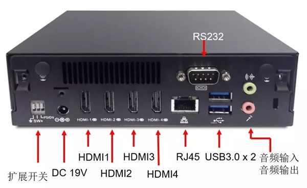 重磅―建�AOPEN推出系列带有拼接功能的播放主机