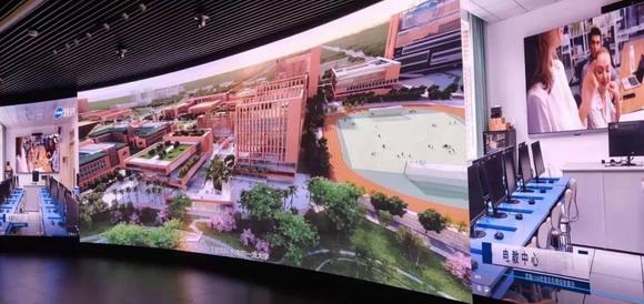 雷曼光电8K超高清显示屏助力华南理工大学广州国际校区中央综合监控中心