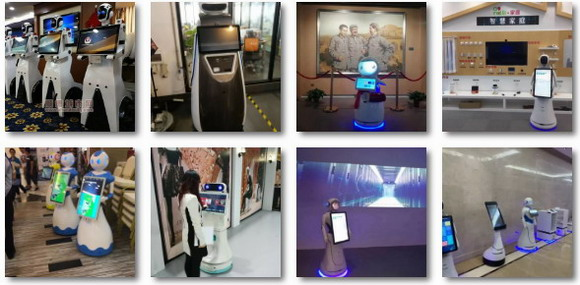 触沃一体机用于智能叉车机器人
