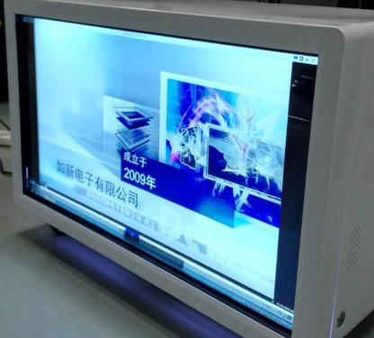 32寸透明展示柜