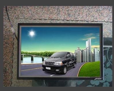 普森高清框架 立式双屏 高亮户外广告机畅销全国 艾普森,立式又屏
