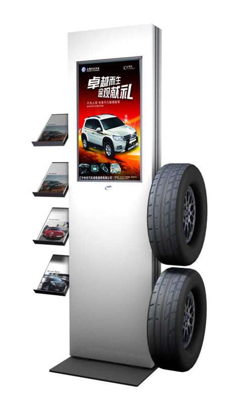 4S车店广告机:数字标牌:触摸一体机