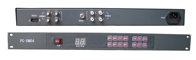 4路视频解调器