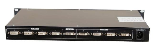 DVI1分8路分配器