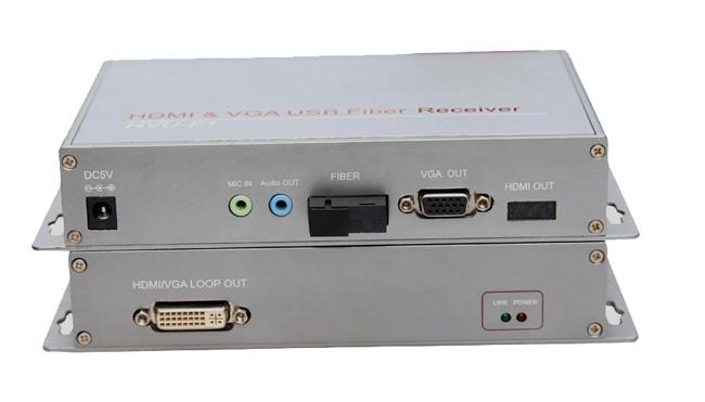 VGA光端机含USB接口