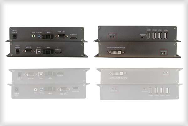 HDMI光端机含USB