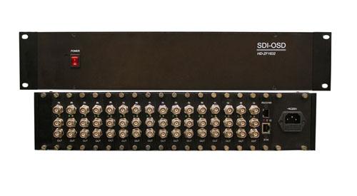 16路SDI字符叠加分配器