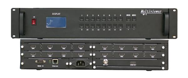 高清HDMI/SDI/VGA16画面分割器