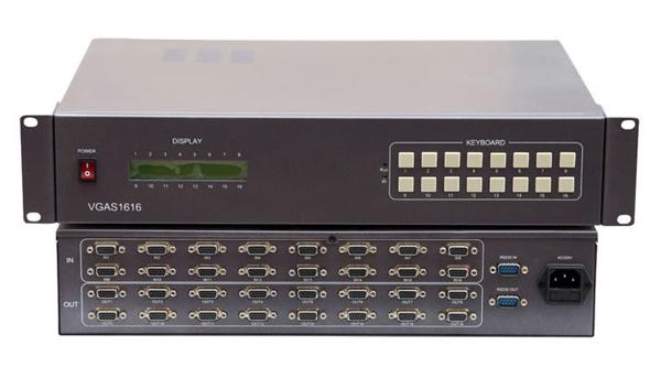 VGA矩阵VGA16*16