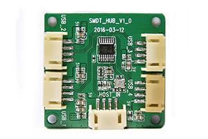 USB HUB小板――1路转4路