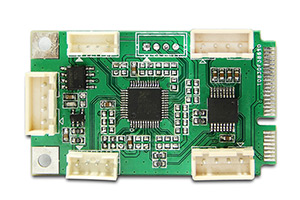 PCI-E TO 串口小板
