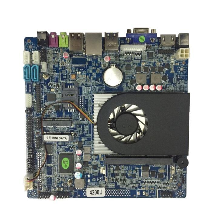 QM9400 4代主板I3I5I7支持4K高清 广告机主板