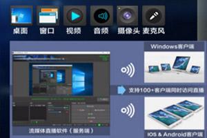 流媒体录播&无线直播软件V1.0