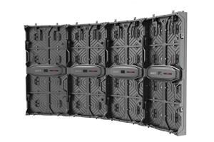 巴科500X1000 弧形LED租赁显示屏1.0 C4.81